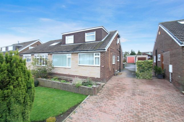 Thumbnail Semi-detached bungalow for sale in Elmroyd, Rothwell, Leeds