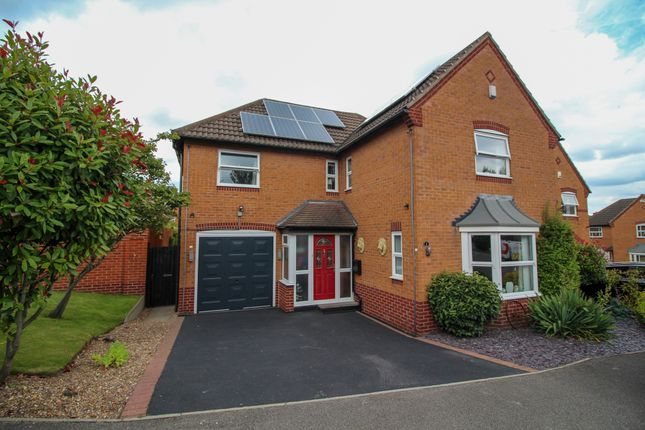 Thumbnail Detached house for sale in Bryony Way, Mansfield Woodhouse, Mansfield