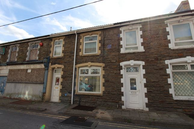 Thumbnail Terraced house for sale in Queens Road, Elliots Town, New Tredegar