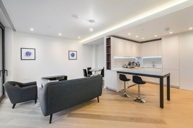 Thumbnail Flat for sale in The Crescent, The Television Centre