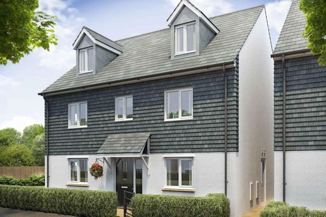 "Thumbnail Detached house for sale in ""Plot 23 - The Kennilworth"" at Ringwell Hill, Bissoe Road, Carnon Downs, Truro"
