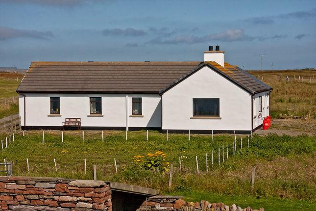 Thumbnail Detached bungalow for sale in Eday, Orkney