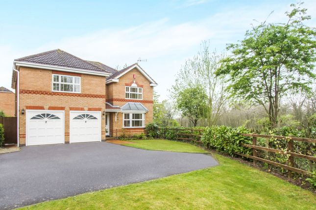 Thumbnail Detached house for sale in Dengate Drive, Balsall Common, Coventry