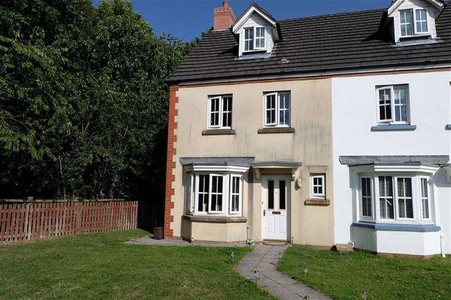 Thumbnail End terrace house for sale in Heol Y Dolau, Bridgend, Mid Glamorgan