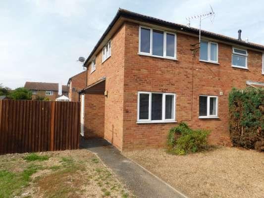 Thumbnail Terraced house to rent in Wainwright, Werrington, Peterborough