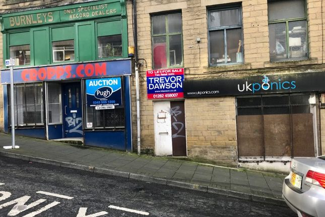 Retail premises for sale in Hall Street, Burnley