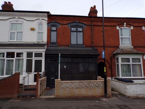 Terraced house in  Oakwood Road  Sparkhill  Birmingham  West Midlands  Birmingham