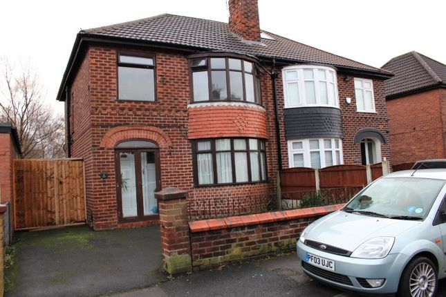 Thumbnail Semi-detached house to rent in Annable Road, Droylsden, Manchester