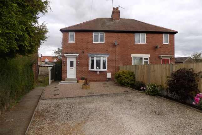 Semi-detached house for sale in Sandy Close, Whitwell, Worksop, Nottinghamshire
