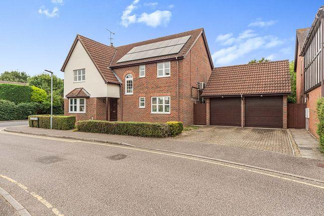 Thumbnail Detached house for sale in Mathews Close, Chancellors Park, Stevenage