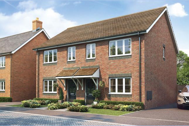 Thumbnail Semi-detached house for sale in Shawbury, Shrewsbury