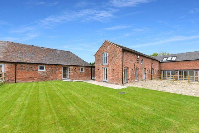 Thumbnail Barn conversion for sale in Dorrington Lane, Woore, Crewe
