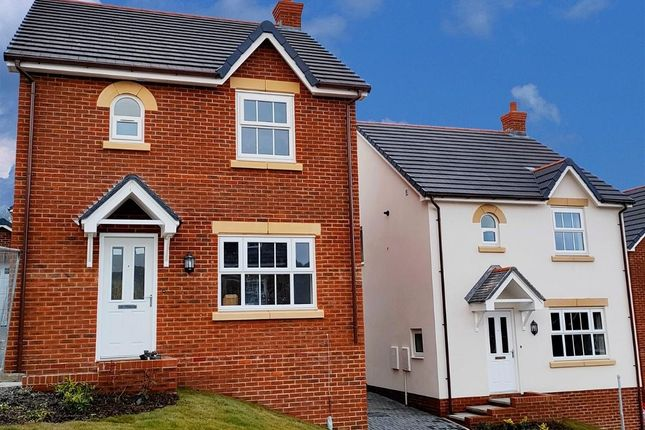 Thumbnail Semi-detached house for sale in Maes Helyg, Vicarage Road, Llangollen
