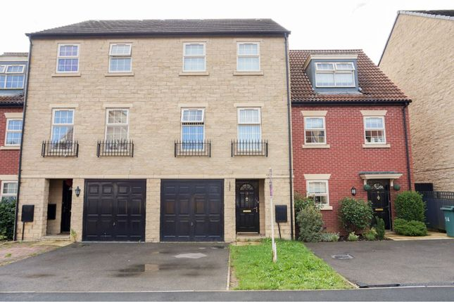 Thumbnail Terraced house for sale in Regal Close, Corby