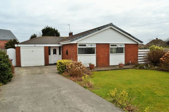 Thumbnail Detached bungalow for sale in Deerbolt Crescent, Kirkby, Liverpool