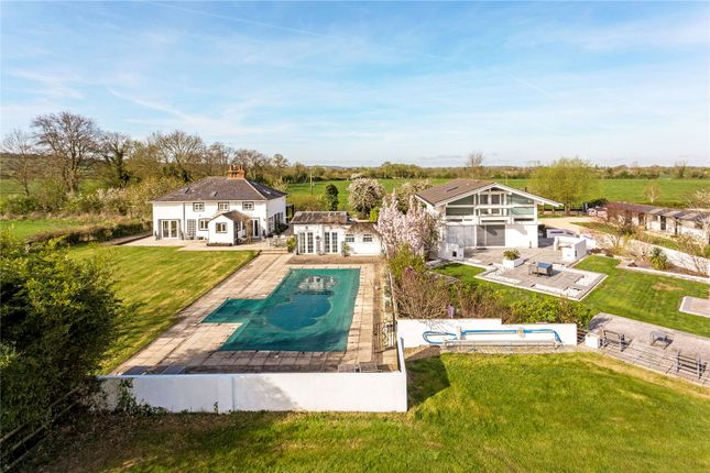 Thumbnail Detached house for sale in Wanborough, Swindon, Wiltshire