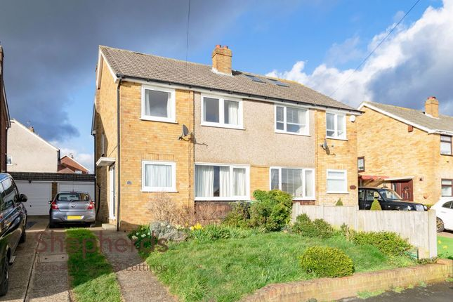 Thumbnail Semi-detached house for sale in Hammondstreet Road, West Cheshunt, Hertfordshire