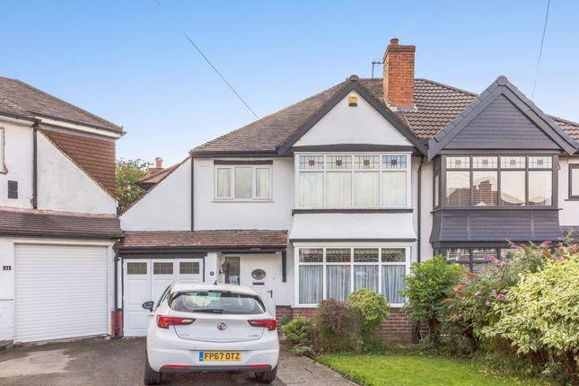 Thumbnail Semi-detached house for sale in Goodrest Avenue, Halesowen, West Midlands