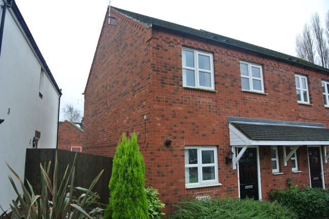 Thumbnail End terrace house to rent in Comberton Close, Binley, Coventry