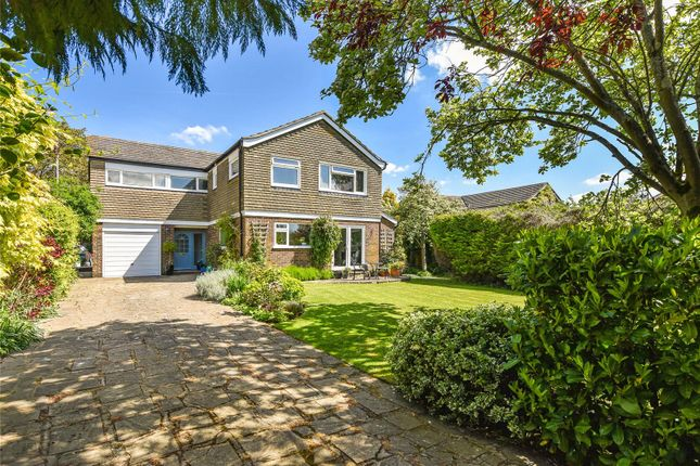Thumbnail Detached house for sale in Coombe Crescent, Bury, Pulborough, West Sussex