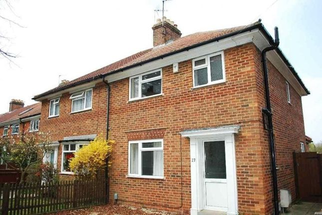 Thumbnail Semi-detached house to rent in Old Road, Headington, Oxford