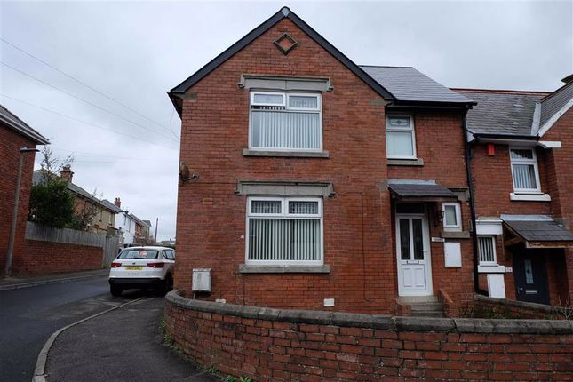 Thumbnail End terrace house to rent in Trinity Street, Barry, Vale Of Glamorgan