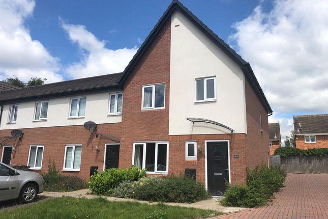 Thumbnail End terrace house to rent in Holliars Grove, Kingshurst, Birmingham