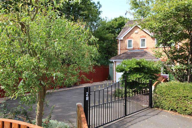 Thumbnail Semi-detached house for sale in Wakefield Croft, Ilkeston