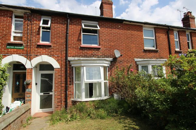 Thumbnail Terraced house for sale in Rushes Road, Petersfield