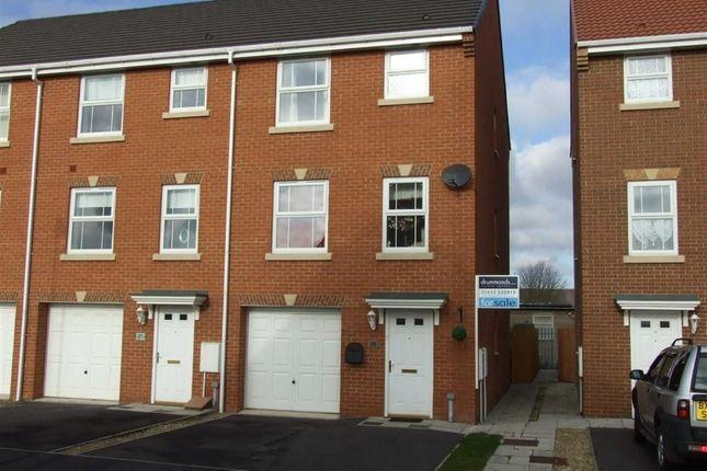Thumbnail End terrace house for sale in Charlton Close, Billingham