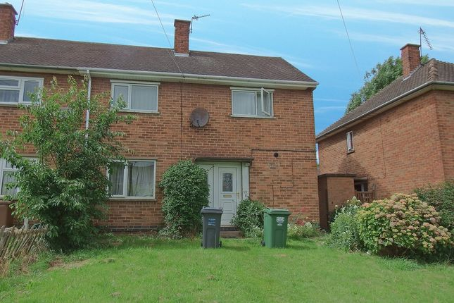 Thumbnail Semi-detached house to rent in Hermitage Road, Loughborough