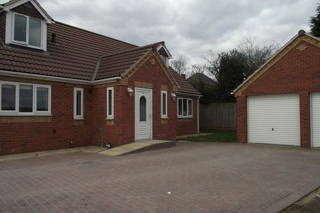 Thumbnail Detached house to rent in Jadella Close, Mansfield
