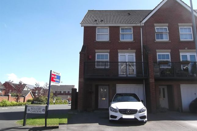 Thumbnail Town house for sale in Rollesby Gardens, Sutton Heath, St Helens