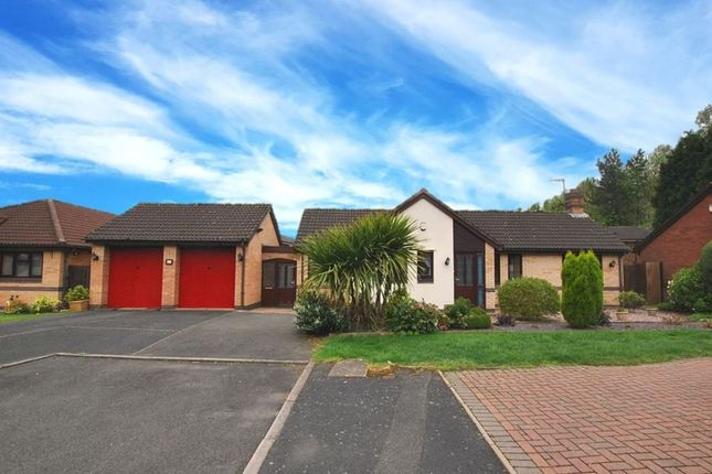Thumbnail Detached bungalow for sale in Ennerdale Close, Priorslee, Telford, Shropshire, 9Rr.