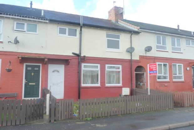 Thumbnail Terraced house to rent in Beatrice Avenue, Bebington, Wirral