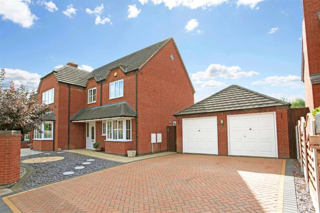 Thumbnail Detached house for sale in Doseley Road, Dawley, Telford