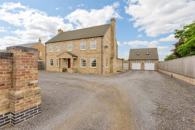 Thumbnail Detached house for sale in Leverington, Wisbech