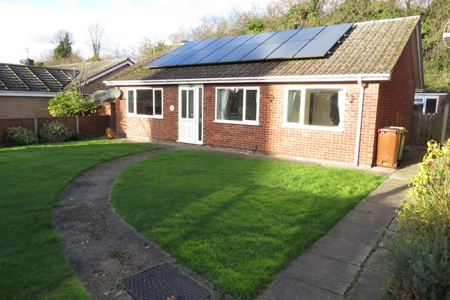 Thumbnail Detached bungalow for sale in Chartwell Court, Sprowston, Norwich