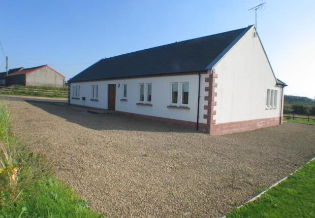 Thumbnail Detached bungalow to rent in Nether Crunchie, Dalry, North Ayrshire