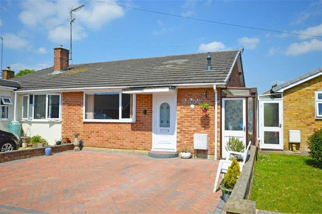 Thumbnail Semi-detached bungalow for sale in Sandhills Road, Kingsthorpe, Northampton
