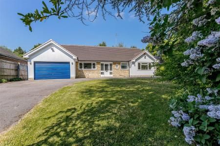 Thumbnail Detached bungalow for sale in Marsh Lane, Solihull