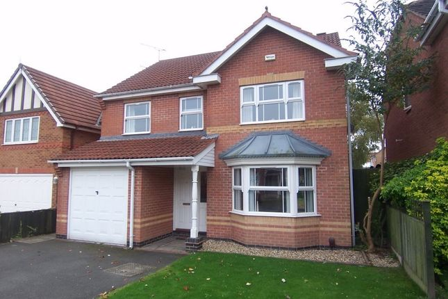 Thumbnail Detached house to rent in Ryedale Avenue, Mansfield, Nottinghamshire