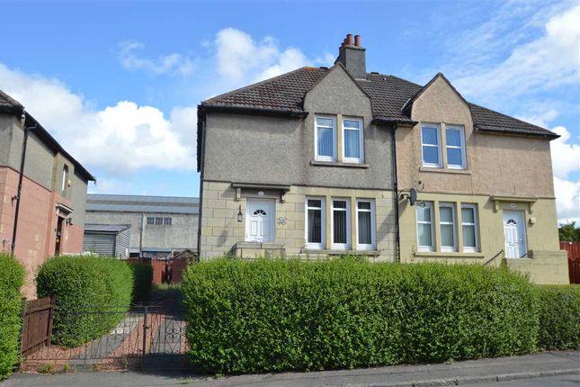 Thumbnail Semi-detached house for sale in Glasgow Road, Hamilton