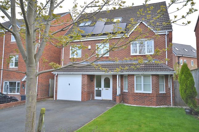 6 bed detached house for sale in Galingale View, Newcastle-Under-Lyme