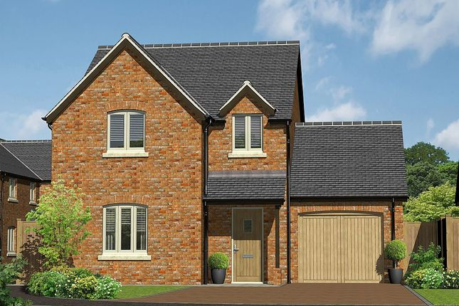 Thumbnail Detached house for sale in Cruckmeole Meadows, Cruckmeole, Hanwood, Shrewsbury, Shropshire