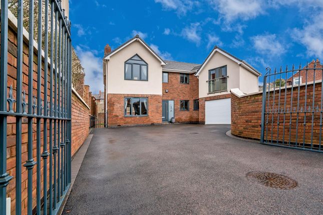 Thumbnail Detached house for sale in Hatherton Road, Hatherton, Cannock