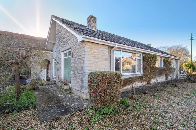 Thumbnail Detached bungalow for sale in Manor Road, Catcott, Bridgwater