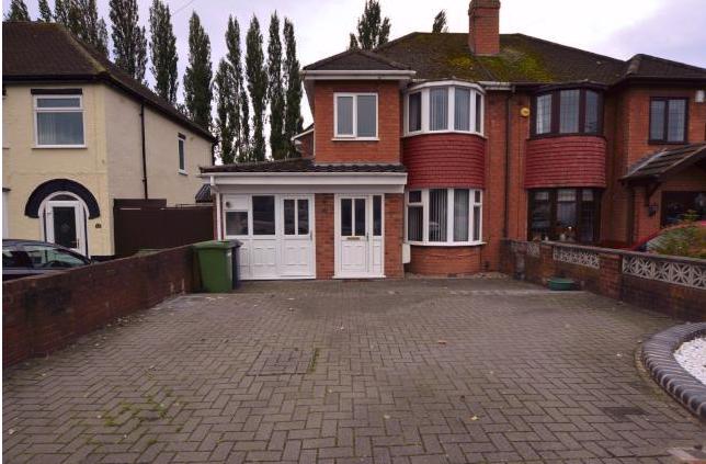 Thumbnail Semi-detached house for sale in Sandon Road, Wolverhampton