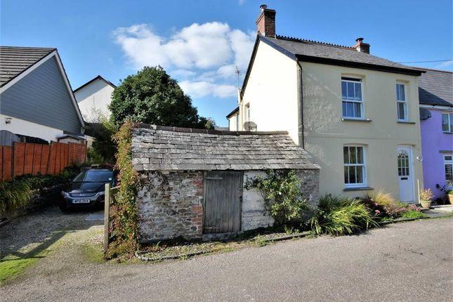 Thumbnail End terrace house for sale in Bridgerule, Holsworthy, Devon
