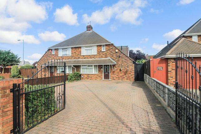 Thumbnail Semi-detached bungalow for sale in Oakley Road, Leagrave, Luton